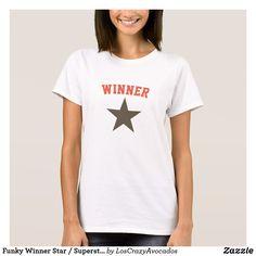 Funky Winner Star / Superstar T-Shirt / Top