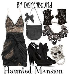 haunted mansion - this will be for my double date with tim burton & helena bonham carter