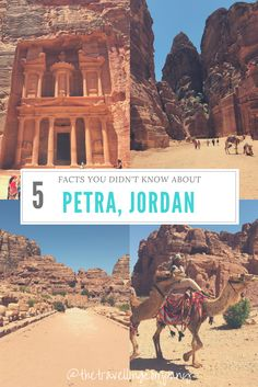 Travel Trivia! 5 Facts You Didn't Know About Petra, Jordan