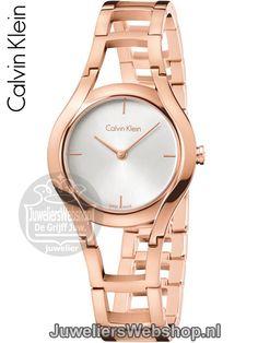 Calvin Klein Class Horloge Dames Rose K6R23626. Nieuwe collectie 2016.