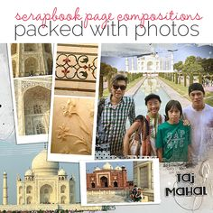 Scrapbook Ideas for Making Pages Packed with Photos | Get It Scrapped