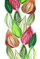 Tyg Frutti - Rosa