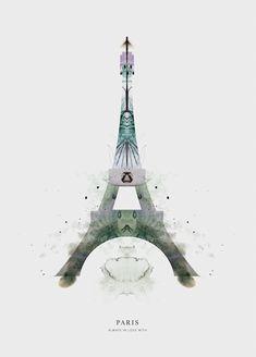 Graphic art from shop.anetmai.com Statue Of Liberty, Graphic Art, Tower, Paris, Building, Illustration, Shop, Travel, Dekoration