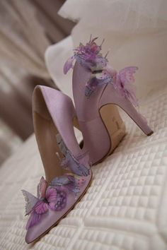 dimitra's wedding shoes