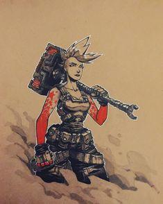Hammer #art #artwork #artist #arts #art_veider #comics #comic #comicbooks #character #characterdesign #drawing #draw #drawings #ink #red #robot #sketch #sketchbook #sketching #sketches #sketchaday