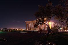 Colonnade in Odessa, Ukraine by CrossFire #Odessa #Ukraine #sky #night #Ukraine