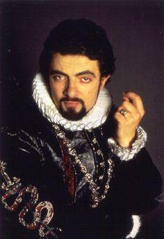 Rowan as Edmond Blackadder