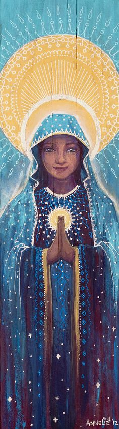 ~Mother Mary~ by Annelie Solis A birthday gift for my own beautiful, amazing mother :)