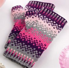 Perri fingerless mitts