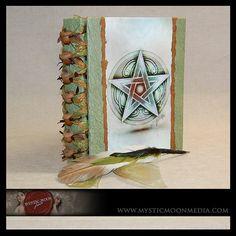 Book of Shadows or Handfasting Guest Book von mysticmoonmedia