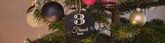 De derde dag van kerstmis, gaf MamaLiefs aan mij: Soe Klassiek in Paars. Dit is een jurkje voor de kleine kokette Katinka's onder ons.
