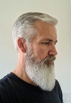 Self trimmed my 15 month beard for my 51st B-Day tomorrow.