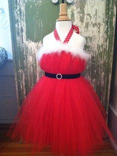 Christmas Tutu Dress Santa tutu