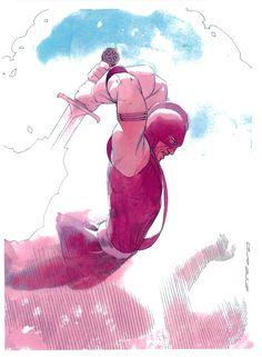 The Swordman by Esad Ribic *