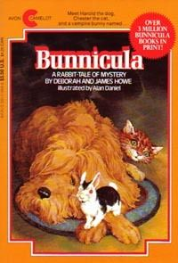Bunnicula...I LOVED this book when I was a kid. I think I'll order a copy for my son :)