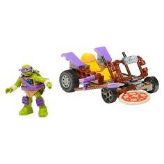 Mega Bloks Teenage Mutant Ninja Turtles Donnie's Pizza Buggy