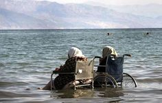 This will be me, still going to the ocean in my wheelchair.
