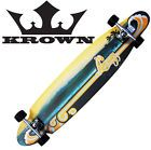 New Krown Complete KickTail Skateboard Longboard Wave - Complete, Kicktail, Krown, Longboard, Skateboard, Wave