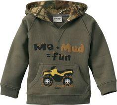 cute. love the camo in the hood too