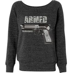 Armed Gun Eagle American Pride Sweatshirt : OCDesignzz