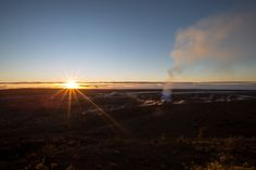 Kilauea sunrise