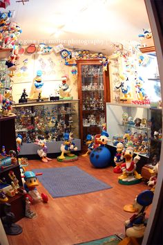 Arguably the largest Donald Duck collection in the world. Check it out!