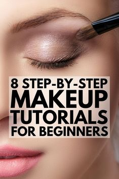 8 stepbystep makeup tutorials for beginners to teach you the basics of applying foundation concealer eyeshadow eyeliner mascara and blush tips for perfect contouring and. Foundation Contouring, Makeup Tutorial Foundation, How To Apply Foundation, Contouring And Highlighting, Foundation Tips, Makeup Contouring, Flawless Foundation Application, Eye Shadow Application, Natural Foundation