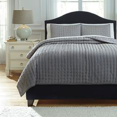 That Furniture Outlet - Minnesota's #1 Furniture Outlet. We have exceptionally low everyday prices in a very relaxed shopping atmosphere. Ashley Teague Gray Comforter Set http://ift.tt/2bbD6DE #thatfurnitureoutlet  #thatfurniture