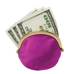 Cash In A Coin Purse
