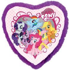 Boa Heart My Little Pony Balloon 30in x 30in - Party City