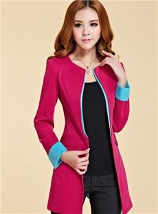 Perfect New Arrival Slim Assorted Colors Blazer Outwear : dressyours.com