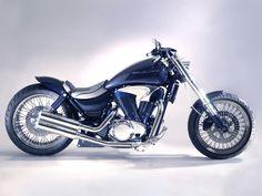 Suzuki VS 1400 Intruder Auspuffanlage DANDY - Miller Custombike