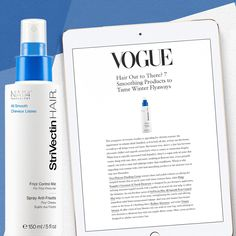 Our new All-Smooth Overnight Anti-Frizz Serum and Frizz Control Mist made best-of lists in Vogue, Elle, Allure, and W Magazine. Try it now to experience it for yourself.  #StriVectin #StriVectinHAIR #hair #haircare #styling #antifrizz