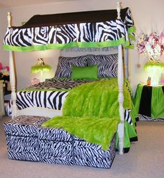 How To Incorporate Zebra Print Into Your Bedroom's Décor