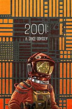 2001: A Space Odyssey - movie poster - Max Temescu