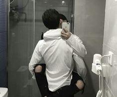 Image about love in Asian gay couple 😆🌈 by Ichikawa tsubaki Korean Boys Ulzzang, Ulzzang Couple, Ulzzang Boy, Cute Asian Guys, Cute Korean Boys, Cute Boys, Daddy Aesthetic, Couple Aesthetic, Daddy's Little Boy