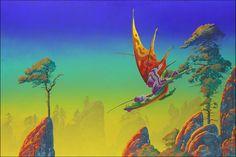 Dragon at Down © Roger Dean