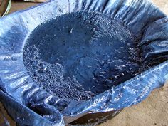 how to make indigo dye from plant