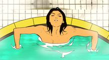 목욕의 신.. 훌륭한 만화구만..
