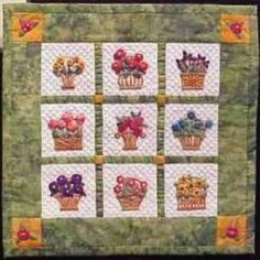 If you have never made a miniature quilt, why not try one for a change of pace? They are made in the same way as regular sized quilts, but on a smaller scale. While most mini quilts tend to be made into wall hangings, they can also serve as a doll...