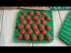 Strawberry Stitch - How to Crochet - YouTube