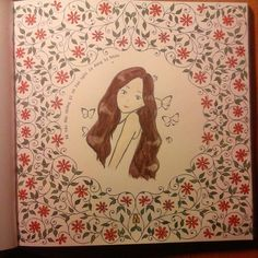 #coloingbook #secretgraden #johannabasford #flower #taeyeon #girlsgeneration