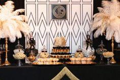 Gatsby themed backdrop