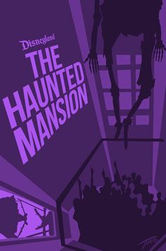 Haunted Mansion Liberty Square Poster