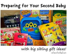 Preparing for the Second Baby - with big sibling gift ideas! NateandRachael.com
