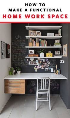Adding an office to a home is possible, no matter the size of your house or living situation. If creating an office is important to you, there are several ideas to implement in order to make an attractive and functional workspace. Here are the ten things http://amzn.to/2tjVK4g