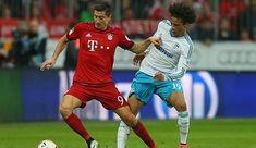 Lewandowski supports Sane-Transfer to FC Bayern - Soccer Score Soccer Scores, Fc Bayern Munich, Robert Lewandowski, Pep Guardiola, Manchester City, Champions League, Old Women, Wednesday, Top