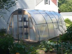 DoItMyself Project-Solar powered hoop greenhouse