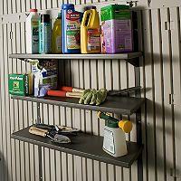 Lifetime® Three 30 Shelves - Sams Club Outdoor Storage Sheds, Shed Storage, Built In Storage, Storage Shelves, Extra Storage, Shelving, Solar Panel Kits, Solar Panels For Home, Best Solar Panels