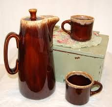 Image result for brown drip pottery